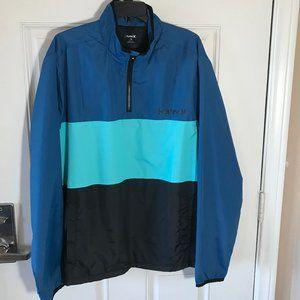 NWT Hurley 1/4 Zip Pullover Jacket Windbreaker